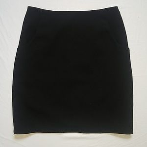 NWOT H&M Front Pockets Black Mini Skirt 6